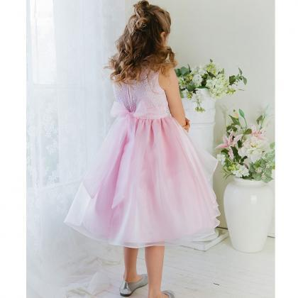 New Hot Sale Organza Flower Girl Dr..