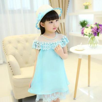 2016 Girls Dresses Summer Children'..