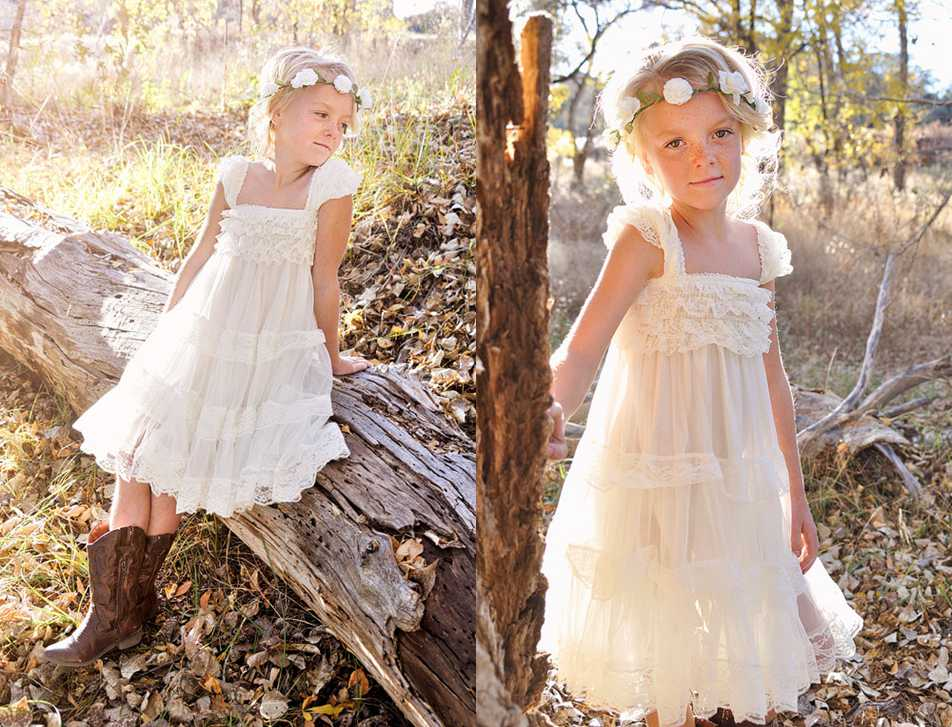 Navy blue and yellow flower girl dresses