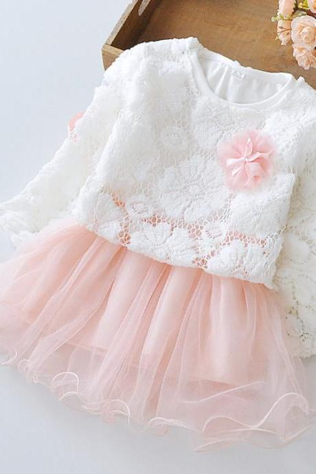 Christmas Dress Pink Tutu Dress Christmas Evening Dinner Outfit Photography Props F-0040